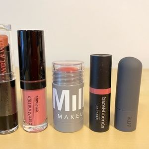 bareMinerals Makeup - Lipsticks Lot of 7 NWT - bareMinerals, Smashbox...